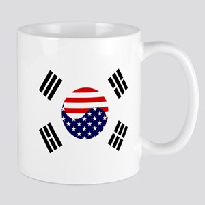 Korean-American Flag Mug